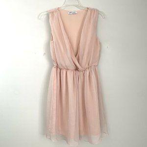 Ultra Pink Size S Dress Short Blush-Pink